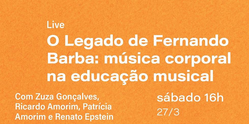"""Live """"O legado de Fernando Barba"""""""