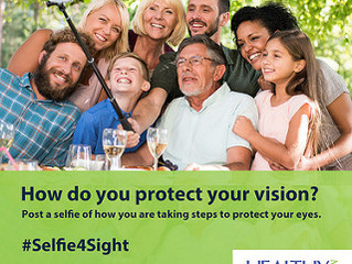 May is Healthy Vision Month
