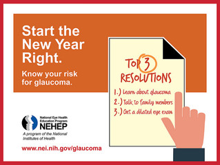 January is Glaucoma Awareness Month