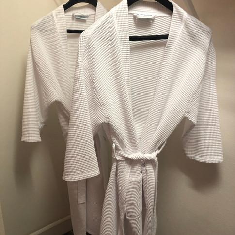 2 robes per bedroom