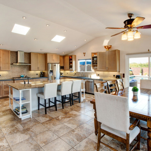 Well-appointed chef's kitchen