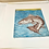 Thumbnail: Redfish, intaglio print - 5/5 limited edition