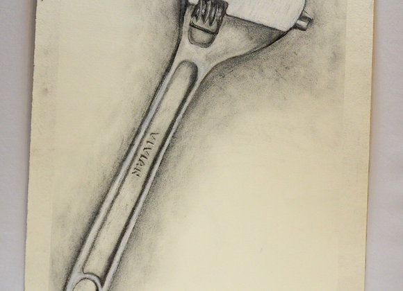 Study drawing, wrench - Vivian
