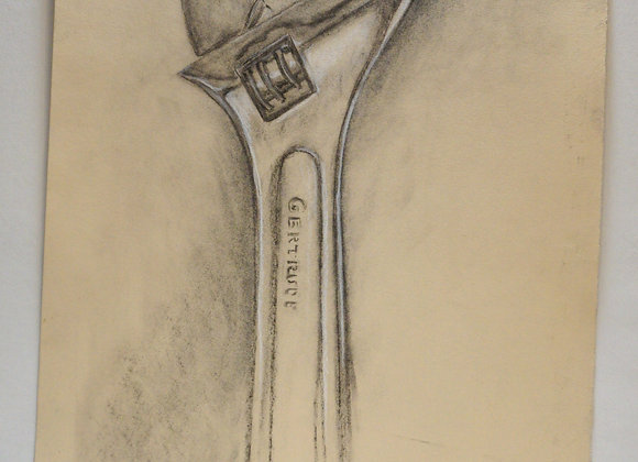 Study drawing, wrench - Gertrude