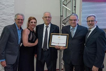Jose Carlos e Sergio Rodini - premiaçao