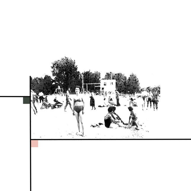 Collage Plage, 2018