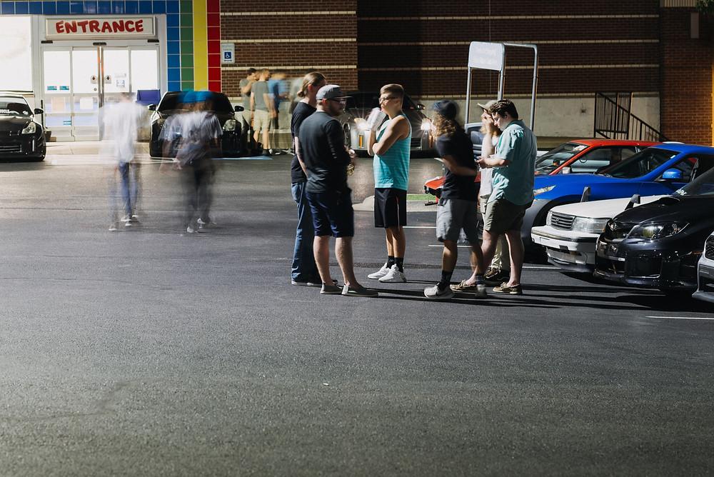 Fayetteville Arkansas Car Scene