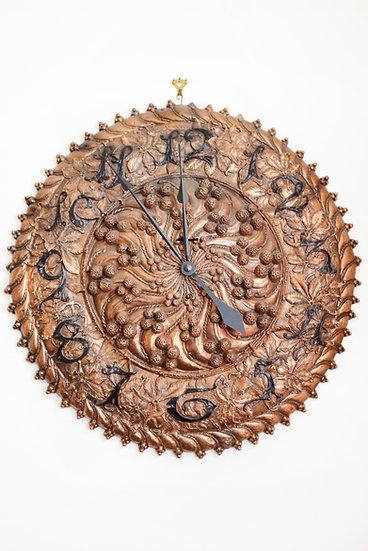 Tiffany Copper wall clock