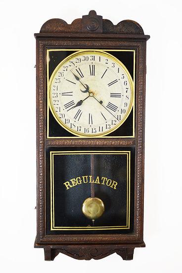 Waterbury Crane Calendar Regulator