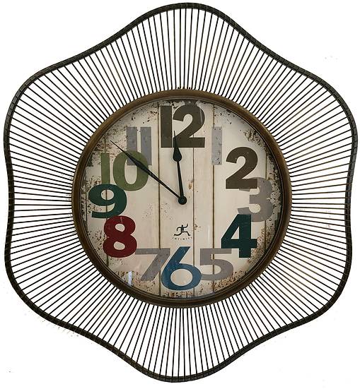 """31"""" Large Quartz wall clock with color"""
