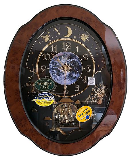 Rhythm Musical Wall Clock Collection