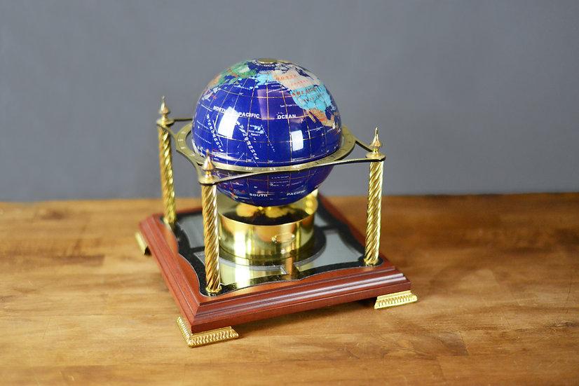 CE Beacham Globe Clock