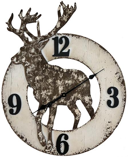 """29"""" Quartz Elk Wall clock"""