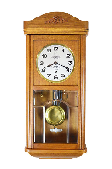 French Westminster Box Clock