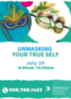 Unmasking Your True Self 2020 July 29 (1