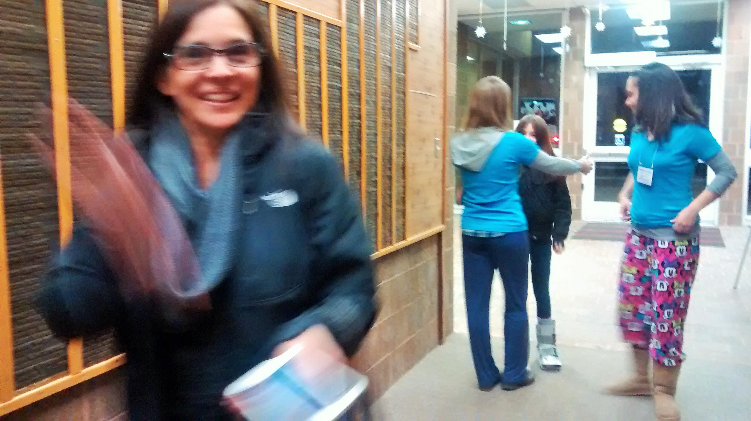 PAB Member JoAnn waving hello!