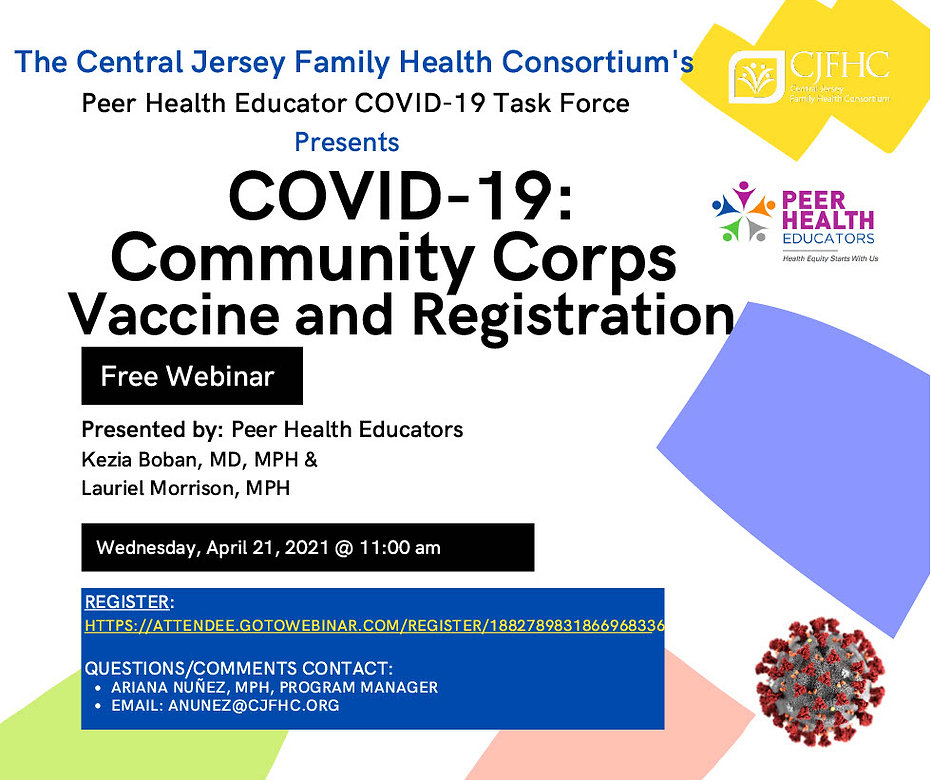 COVID19 Vaccine and Registration_April 2