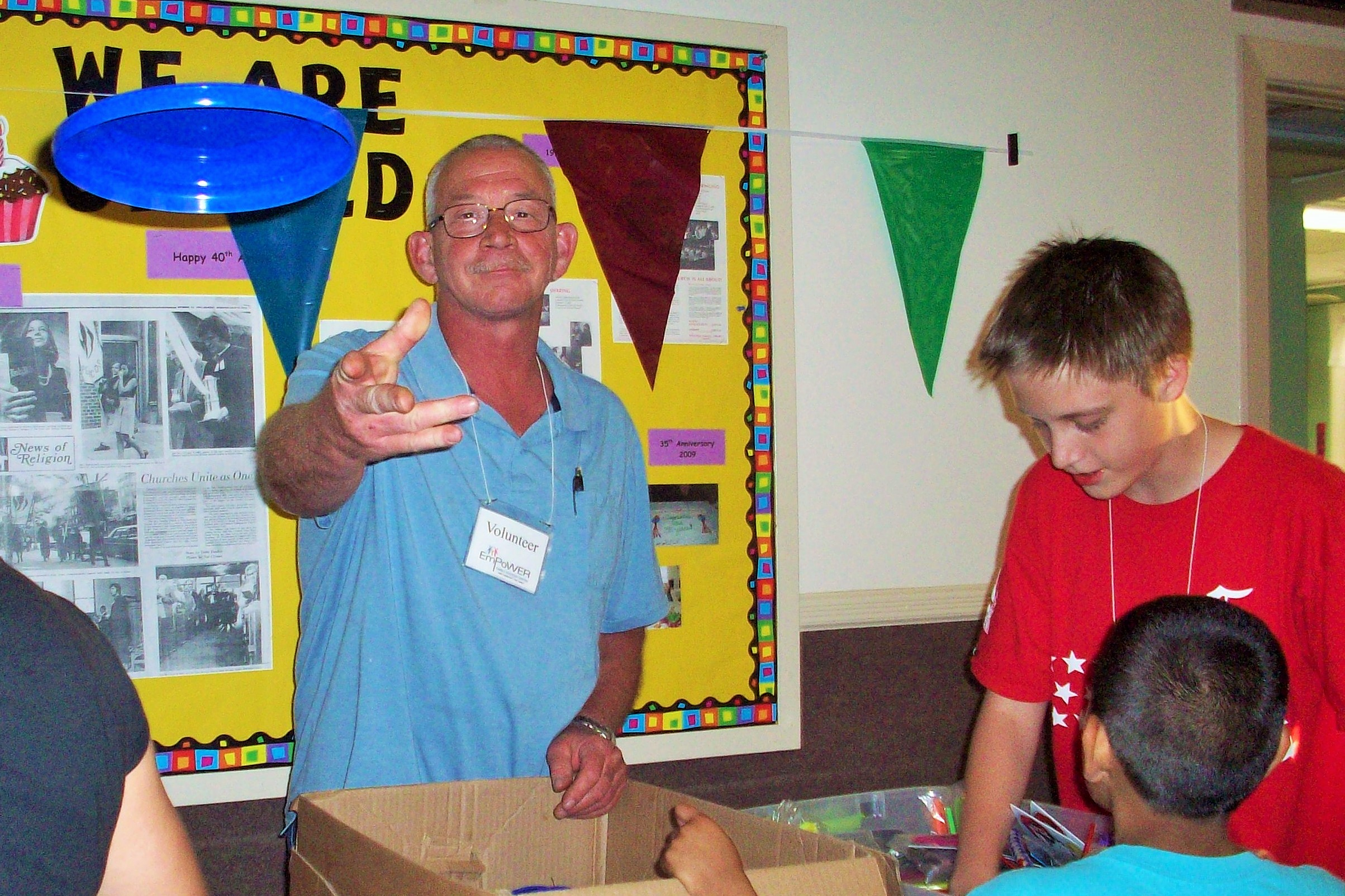 Parent Advisory Board Member Wade Fritzinger