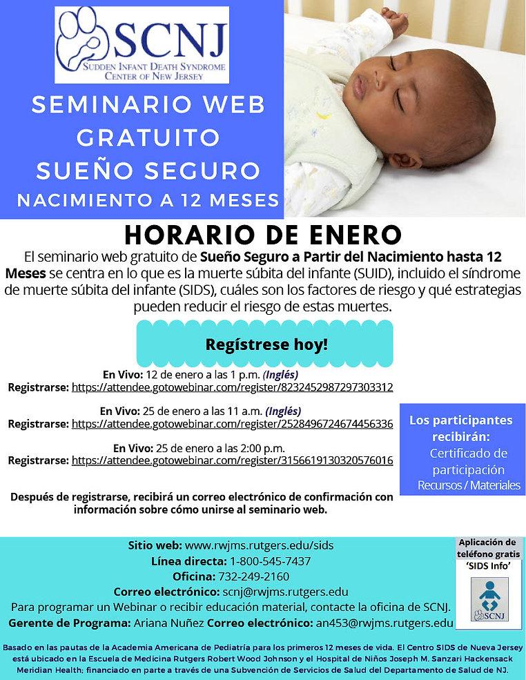 SCNJ Sueno Seguro Nacimiento a 12 Meses_