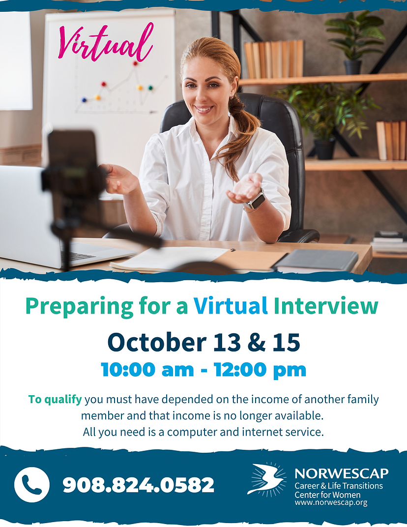 Preparing for Virtual Interview Fall 202