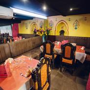 Restaurant indien et pakistanais plat à emporter