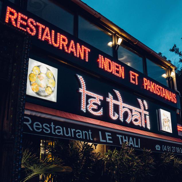 Restaurant indien et pakistanais le Thali