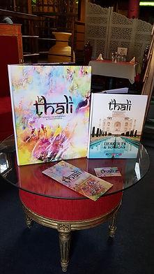 Les prestations du restaurant Indiens et Pakistanais le thali