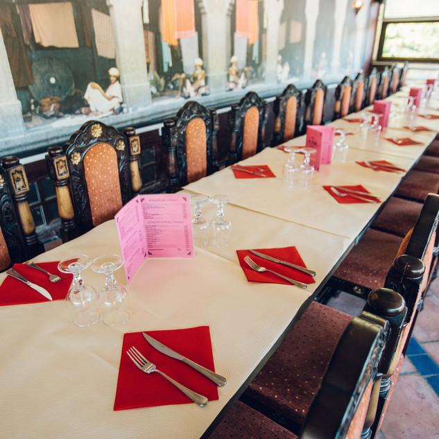 Le thali restaurant location de salle à Marseille