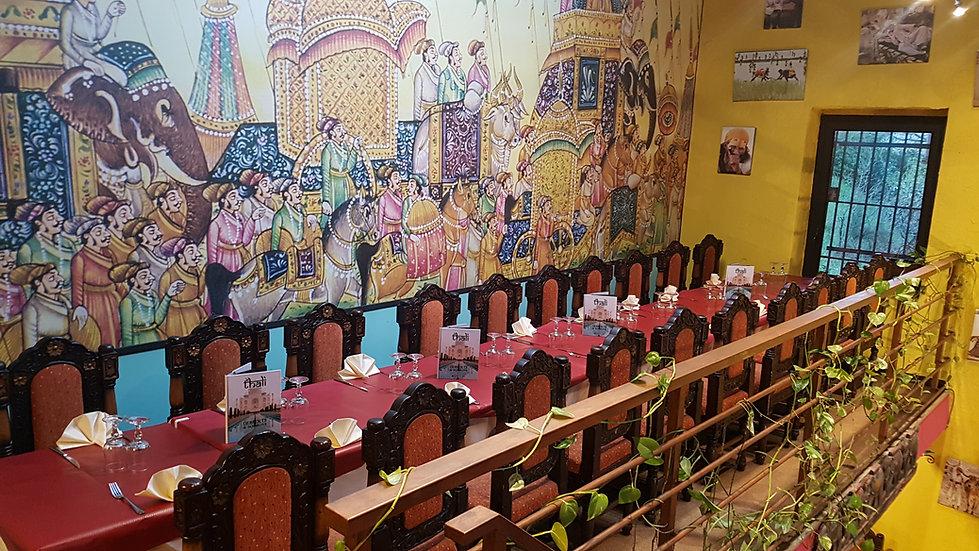 Le thali restaurant pour repas d'affaires à Marseille 13011 et ses alentours pour entreprise