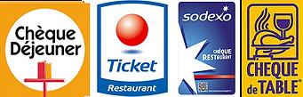 Paiements par chèque déjeuner, ticket restaurant au Thali marseille 13011