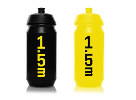 Originální cyklistická lahev 1,5 metru - černá nebo žlutá