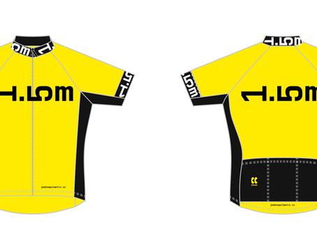 NOVINKA! Cyklistický dres 1,5 metru (pánský, dámský) - žlutá varianta