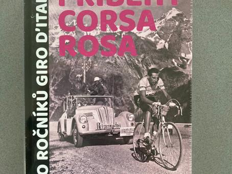 Kniha Příběhy Corsa Rosa s podpisem Romana Kreuzigera