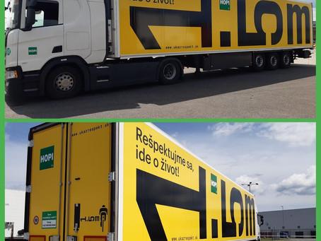 Respekt na kamionech. V Česku i na Slovensku!
