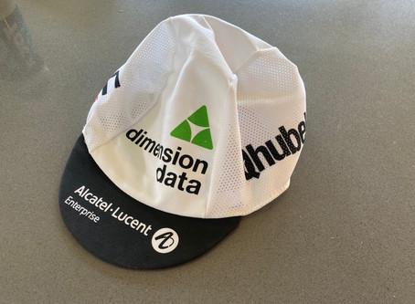 Cyklistická čapka Dimension Data Romana Kreuzigera
