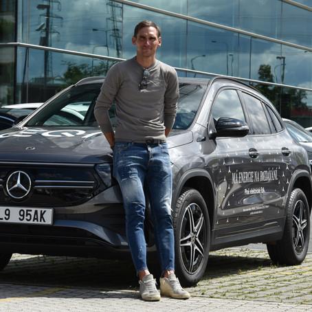 Vyhrajte Mercedes-Benz EQA na víkend!
