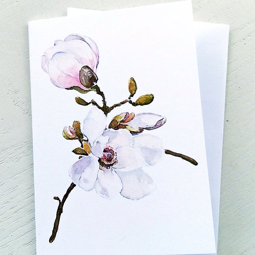 NOTECARD,  Sweet Magnolia1