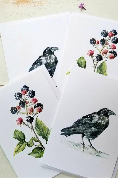 Raven and BlackBerry Card Bundle