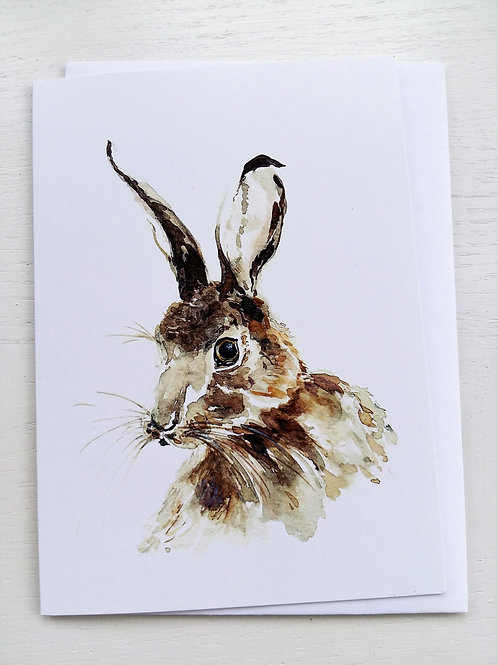 GREETING CARD,  Mr Hare
