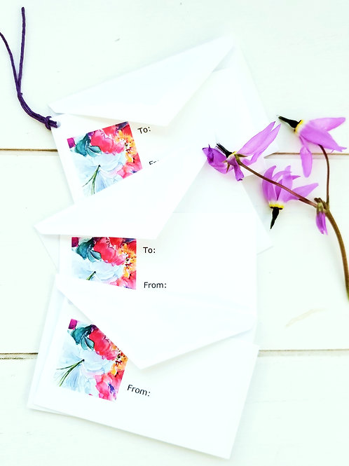 Gift Tags, Lilys