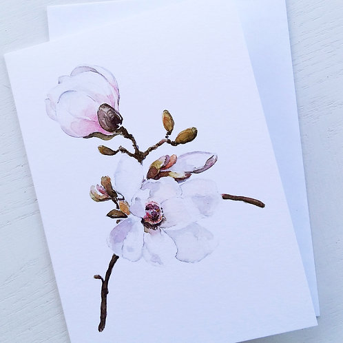GREETING CARD, Sweet Magnolia, SOLD OUT