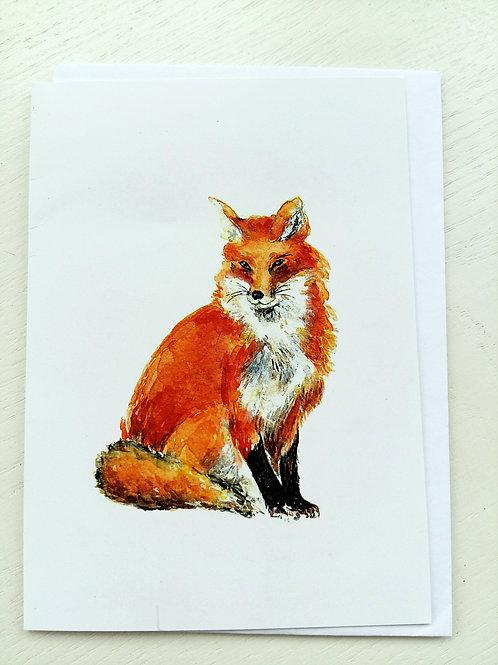 GREETING CARD, Foxy Fox