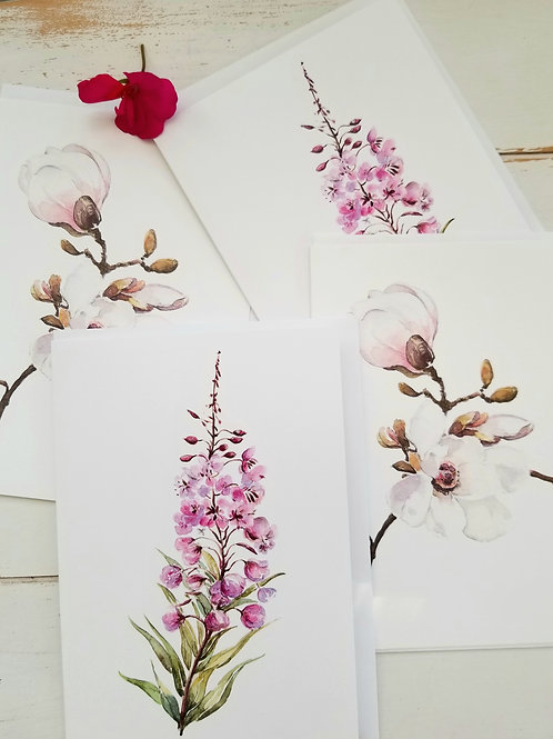 Bundle of 4 Greeting Cards, 4 for 20.00, SOLD OUT