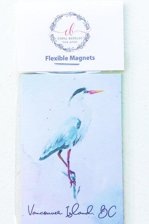 Flexible Magnet, Heron, Vancouver Island