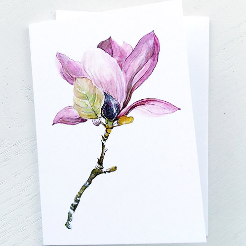 NOTECARD, Sweet Magnolia 2, SOLD OUT!