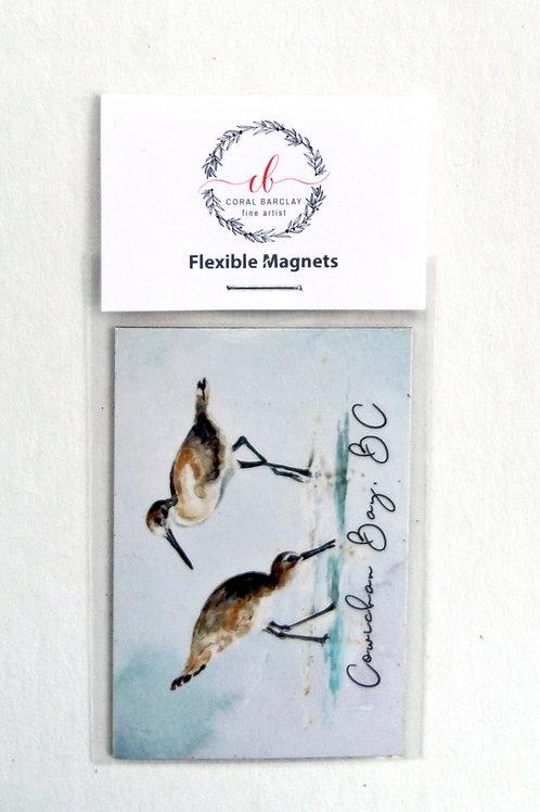 Sandpipers, Flexible Magnet, Cowichan Bay