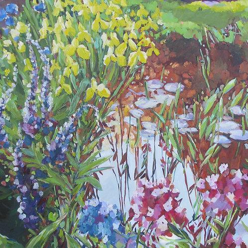 Garden Pond 3, SOLD