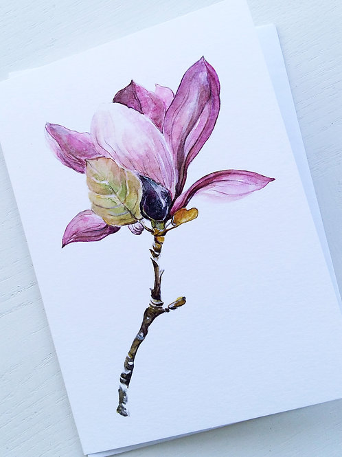 GREETING CARD, Sweet Magnolia 2,SOLD OUT