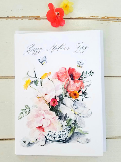 Mothers Day Card, NEW