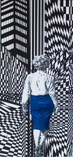 Marilyns Walk blue